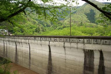 大野ダム。
